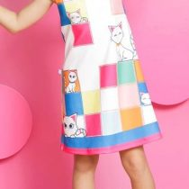 vestido gatinhos mylu modelo