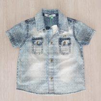 camisa manga curta oliver frente