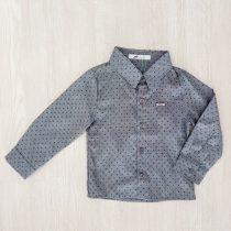 camisa manga longa oliver cinza frente