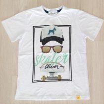 camiseta oliver branca skater frente