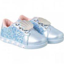 Tênis Infantil Pampili Sneaker Luz Sereísmo Azul Claro