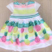 vestido infantil anime abacaxis