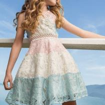 vestido infantil de festa luluzinha