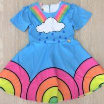 vestido infantil mylu chuva de cores
