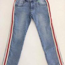 calca jeans infantil oliver com listras