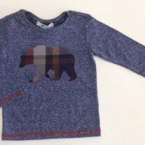 camiseta infantil oliver urso