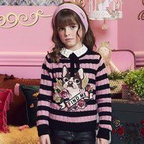 blusa infantil feminina tricot anime find me