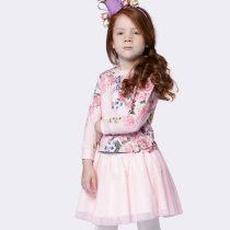 conjunto infantil feminino luluzinha rosas e tule home