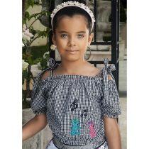 blusa infantil feminina ciganinha caixinha de musica