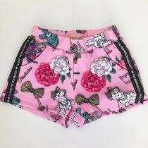 shorts infantil feminino pituchinhus caixinha de musica