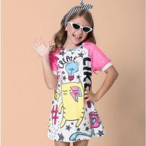 vestido infantil mylu gatinho like modelo-1