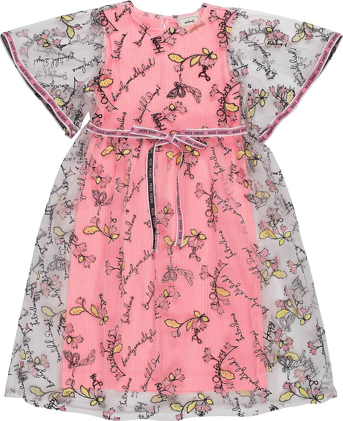 Vestido Infantil Feminino Animê